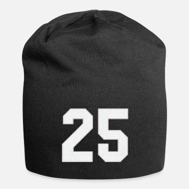 Number Baseball sports jersey number / Jersey Number 25 - Beanie