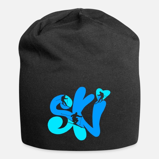 Gift Idea Caps & Hats - ski - Beanie black