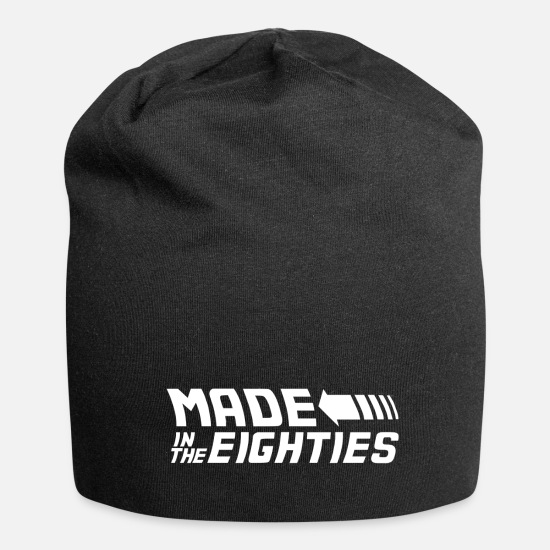 Back Caps & Hats - Made In The Eighties 80s 80's Eighties - Beanie black