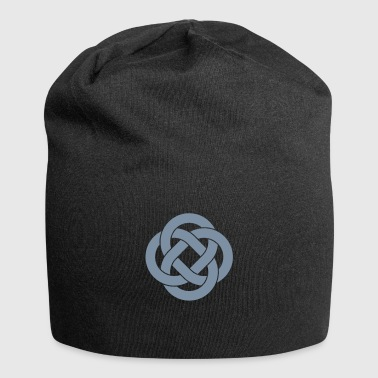 Celtic knot loops - Jersey Beanie