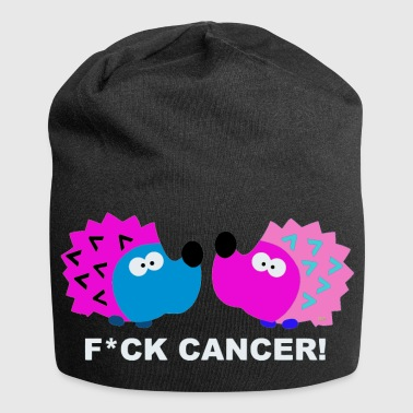 Fuck Fight Cancer Krebs Frauen Brustkrebs T-Shirt  - Jersey-Beanie