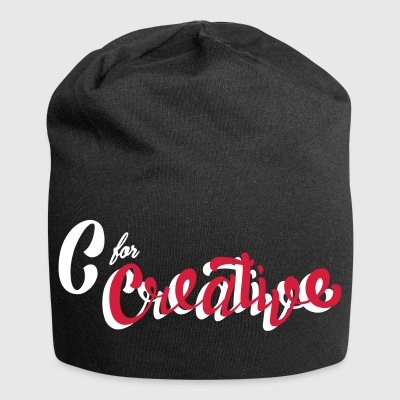 C for Creative - Jersey-beanie