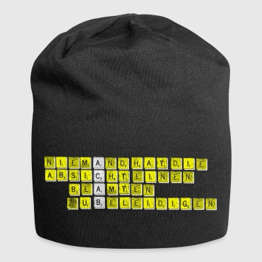 Nobody has the intention to insult an official - Jersey Beanie