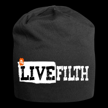 LIVE FILTH - Beanie in jersey