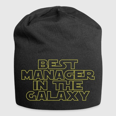 Bester Manager in der Galaxie - Jersey-Beanie