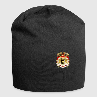 Coat of arms Belgium as a badge - Jersey Beanie