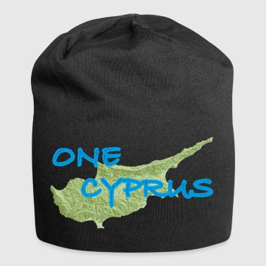 one cyprus green blue - Jersey Beanie