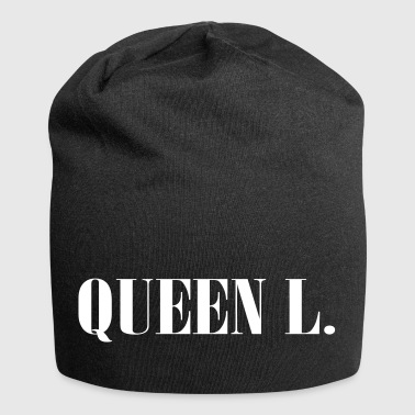Queen L. You are the Queen! - Jersey Beanie