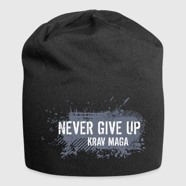 never give up - Jersey Beanie