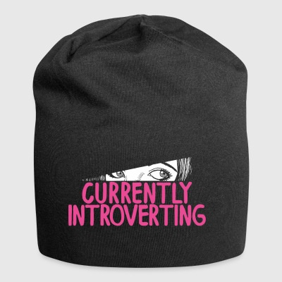 Currently Introverting Intelligenz Analyse Ruhig - Jersey-Beanie