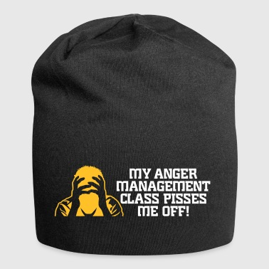 Min Anger Management Class Pisses Me Off! - Jersey-beanie