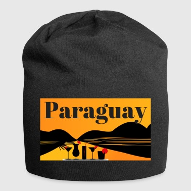 Paraguay - Beanie in jersey