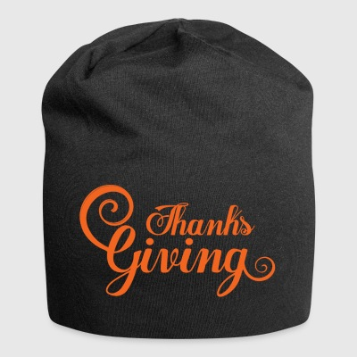 Thanksgiving Calligraphy Gifts for family & friend - Jersey Beanie