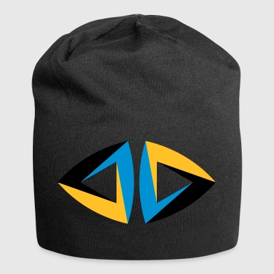 impossible figure Escher triangle geometry hipster - Jersey Beanie
