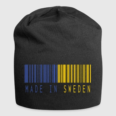 MADE IN SWEDEN BARCODE - Jersey-Beanie