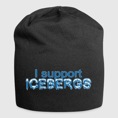 I support Icebergs - I support icebergs - Jersey Beanie