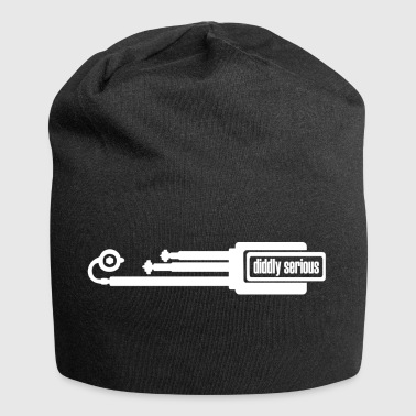 pipes weiss - Jersey-Beanie