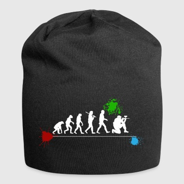 Paintball Tshirt Evolution Geschenk T-Shirt Mann - Jersey-Beanie