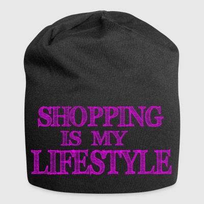 Shopping is my lifestyle - Jersey Beanie