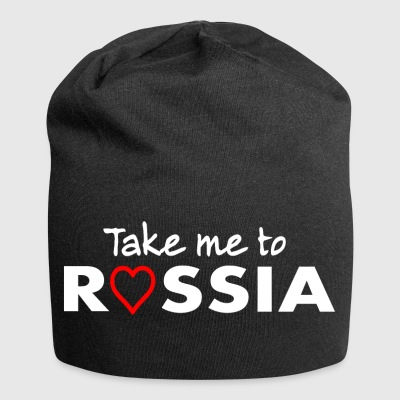 RUSSIA - amore Russia - Russe, Russin - Beanie in jersey