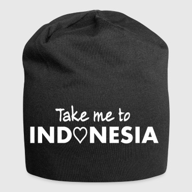 INDONESIA - Take me to Indonesia - Indonesien Indo - Jersey-Beanie