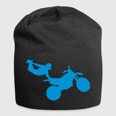 motorcycle12 Freestyle Quer moto1 - Jersey-Beanie