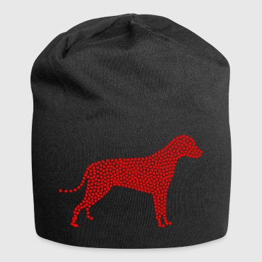 Dog from many red heart gift dog fans - Jersey Beanie