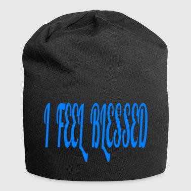 I FEEL BLESSED - Jersey Beanie