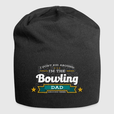 Bowling Dad Father Shirt Gift Idea - Jersey Beanie