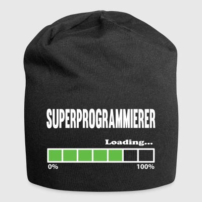 loading Super Programmer - program - Jersey Beanie