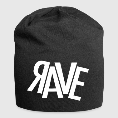 rave - Beanie in jersey