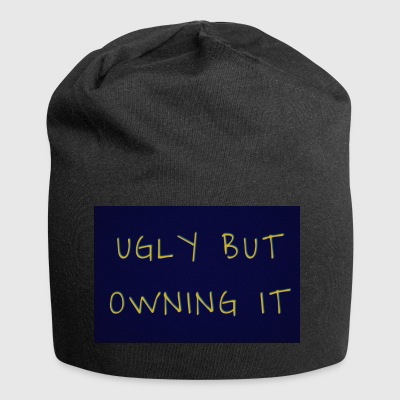 UGLY BUT OWNING IT - Jersey Beanie