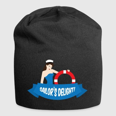 Pin-up / Rockabilly / '50: Delight di Sailor! - Beanie in jersey