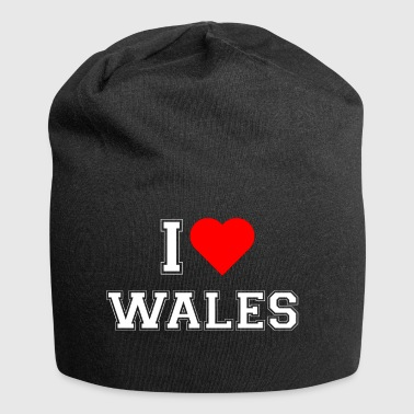 I love Wales - Jersey Beanie
