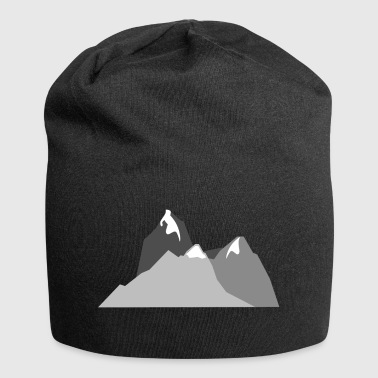 mountains - Jersey Beanie