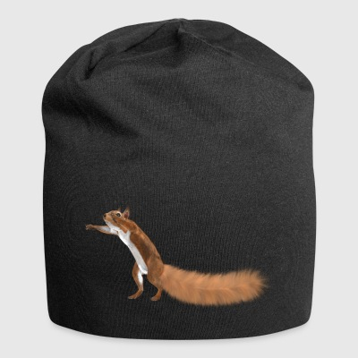 squirrels, earth; - Jersey Beanie
