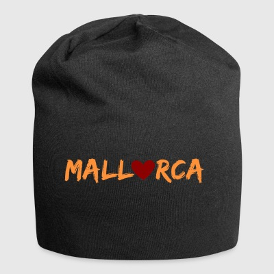 Mallorca with heart - Jersey Beanie