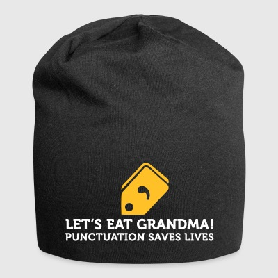 How To Eat Grandma! Save Punctuation Life! - Jersey Beanie