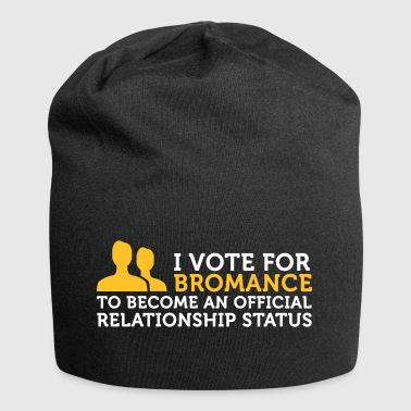 I Am Voting For Bromance - Jersey Beanie