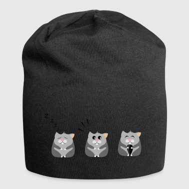 Three hamsters in a row - Jersey Beanie