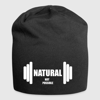 Natural not possible US WHITE - Jersey Beanie