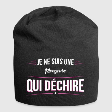 Ensemble de donnees 195 je suis une Ensemble de do - Bonnet en jersey