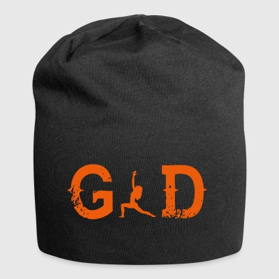 Legend god god yoga matte - Jersey Beanie