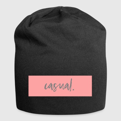 colore rosa casuale - Beanie in jersey