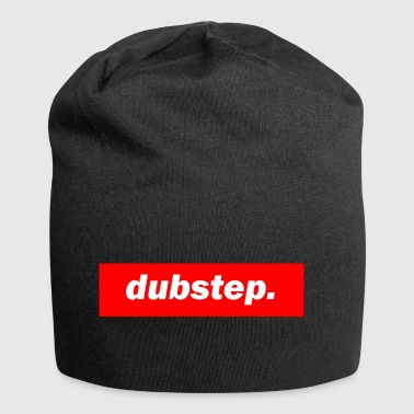 techno mixer red bass bpm dubstep - Jersey Beanie