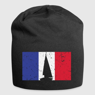 Sailboat - Flag - France - Jersey Beanie