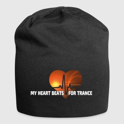 My Heart beats for Trance - Jersey-Beanie