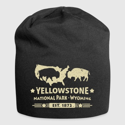 Buffalo Bison Buffalo Yellowstone National Park USA - Jersey-Beanie