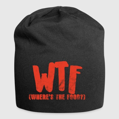 Humor: WTF - Where´s The Food? - Jersey-Beanie