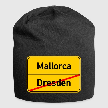 Dresden - Mallorca - Malle - Holidays - Party - Jersey Beanie